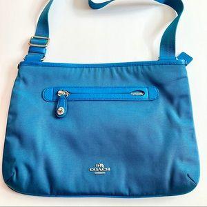 Coach Nylon Crossbody Messenger Bag